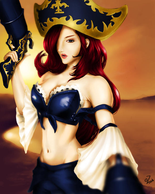 Miss Fortune by Guinzoo