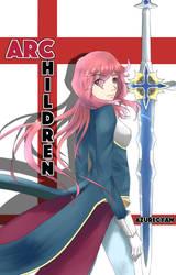 Archildren Light Novel Cover by Azure-Cyan