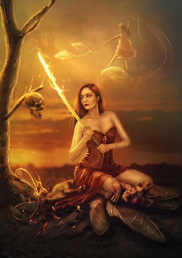 A warrior's soul by Poglazovs