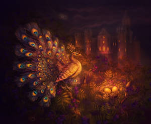 Fire Peacock by Poglazovs
