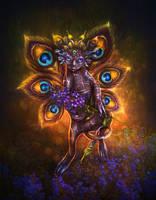 Night flower fairy by Poglazovs