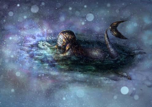 curious little mermaid
