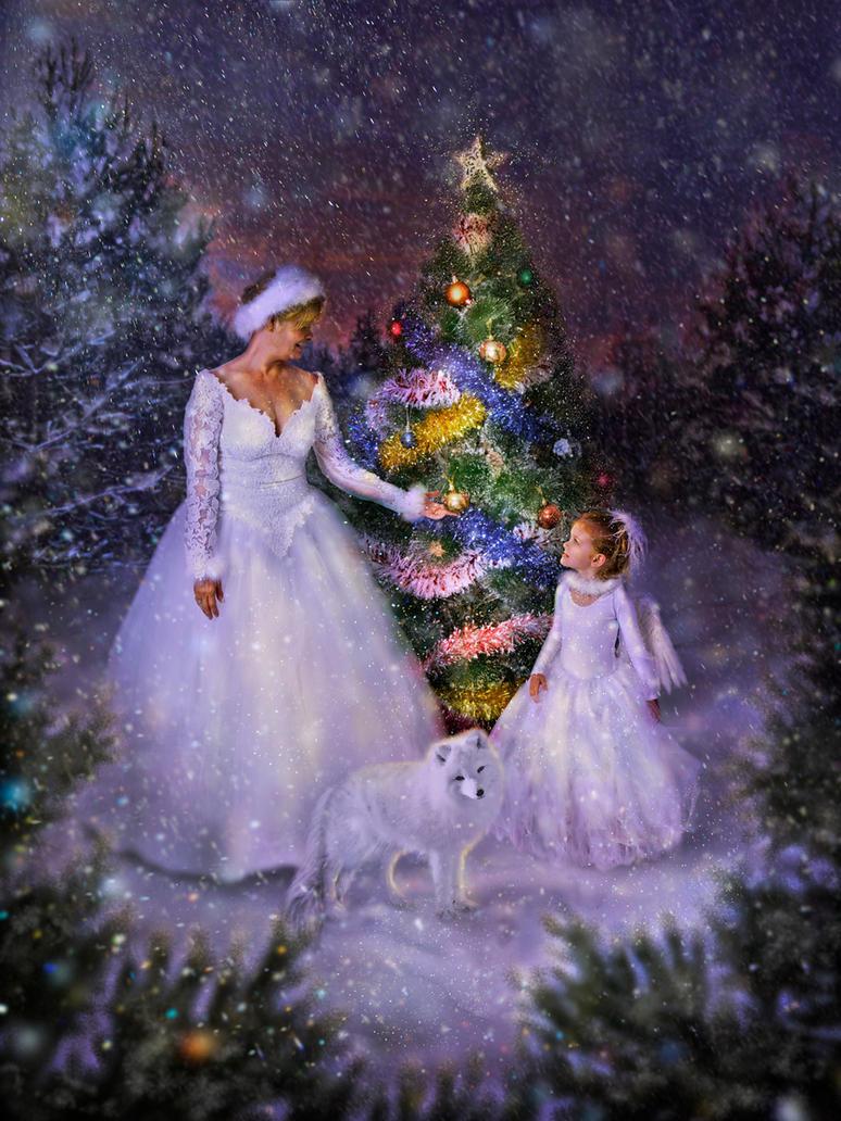 Christmas tree by Poglazovs