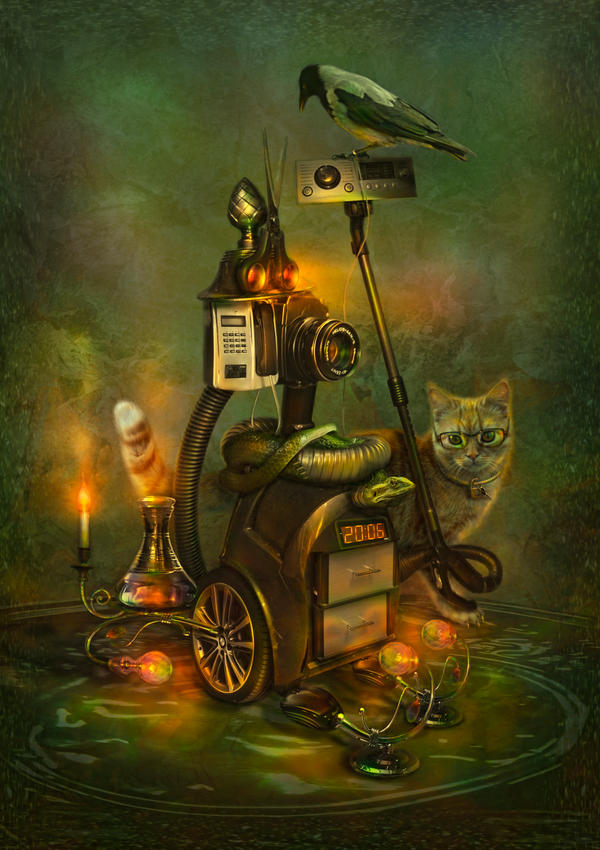 Assistant technomage by Poglazovs