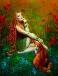 Orange elf by Poglazovs