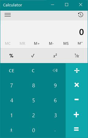 Windows 10 - Calculator app - UI Concept by AtomR by AtomR on DeviantArt