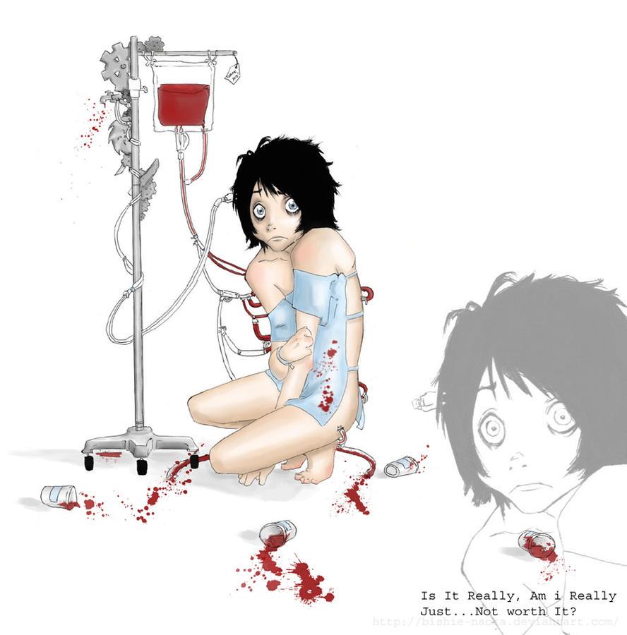 I Gave You Blood... by Bishie-Naota
