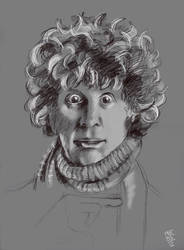 The fourth Doctor - Doctor Who by NorthernLights817