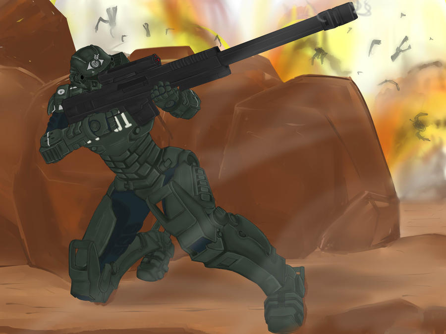 Starship Troopers Invasion Trig Commission by SealSlammer