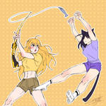 Yang out time with Blake Feat.Tuna on the stick