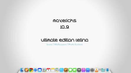 Mavericks 10.9 Ultimate Edition Retina by GrimlocK38