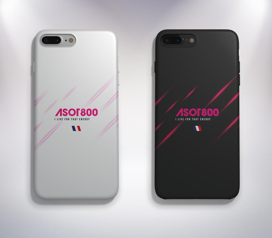 Case iPhone7 (White, Jet Black Version) by GrimlocK38