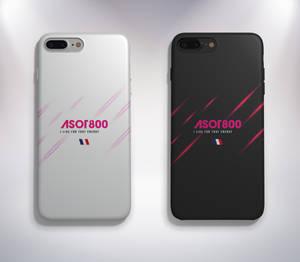Case iPhone7 (White, Jet Black Version)