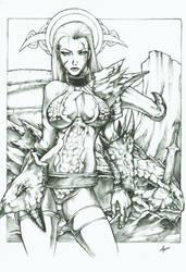 Ruby, The dragon hunter