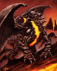 dragon piroclastico
