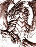 dragon sagrado de fuego