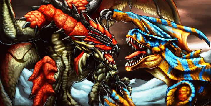 Monster Hunter fan art by Chaos-Draco