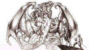 demon dragon attack