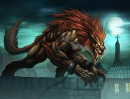 Werewolf-Crimson Death by Chaos-Draco