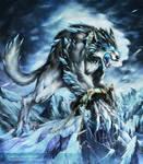 Fenrir by Chaos-Draco