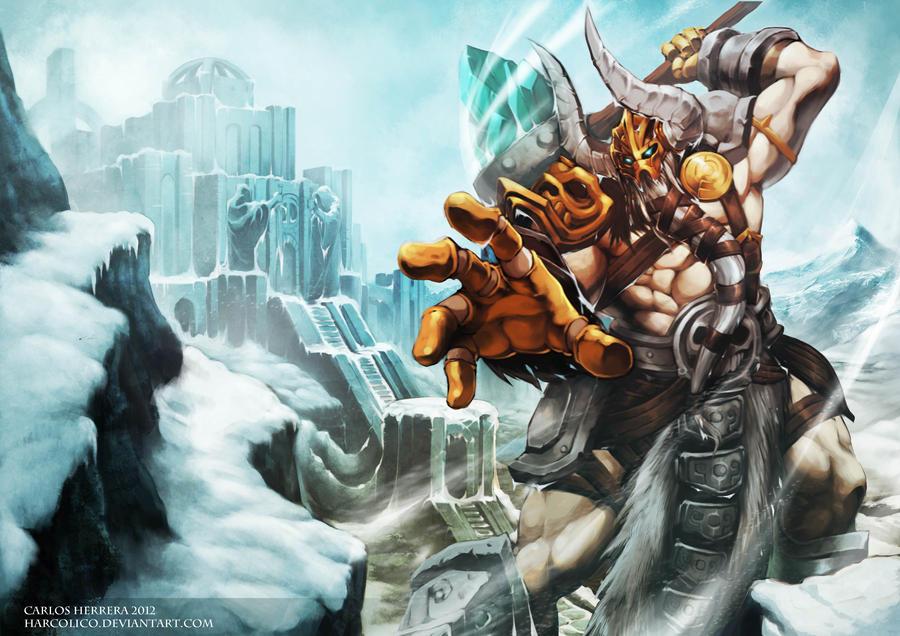Ymir - Fluvios Glacius by Chaos-Draco