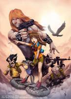 Caleuche Comic cover book. by Chaos-Draco