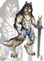 Night Wolf design work by Chaos-Draco