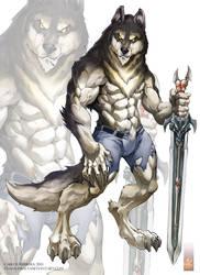 Night Wolf design work