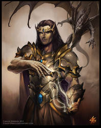 Angrod Veneanar, First Realm characters by Chaos-Draco