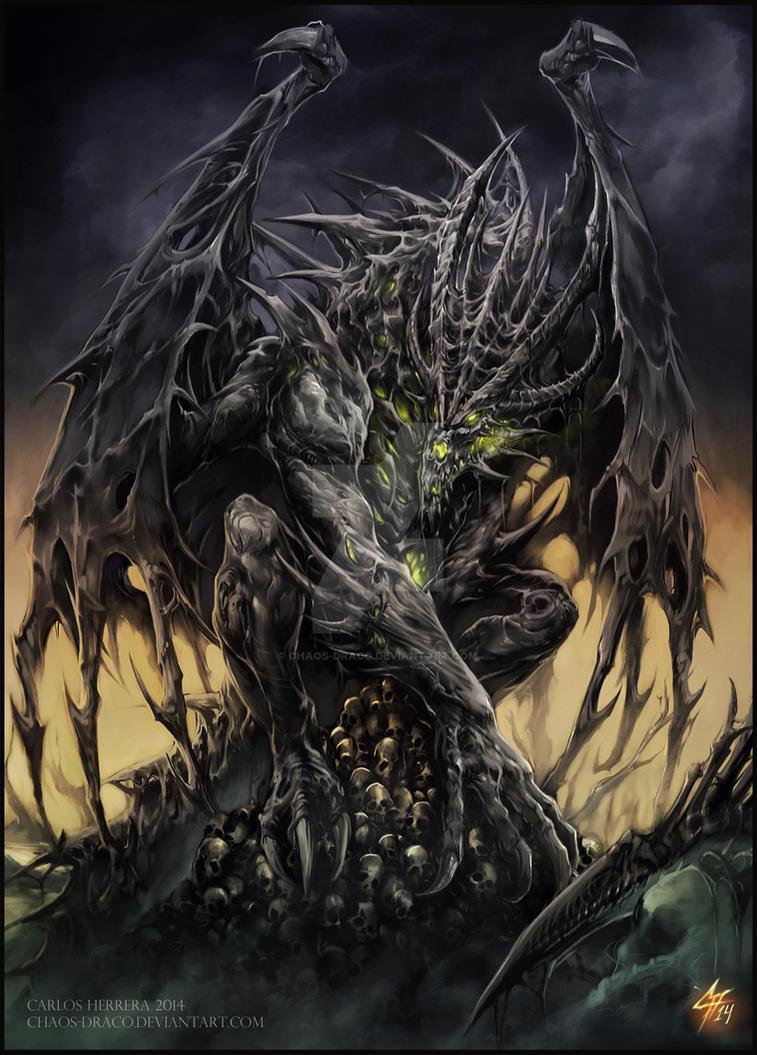 Necrotic Dragon Elder By Chaos Draco ...