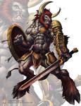 Trahern the Minotaur