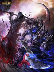 Void vs Death HellFire by Chaos-Draco