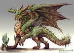 Cactus dragon design