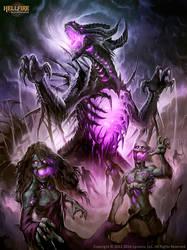 Terrandor HellFire the Undead king