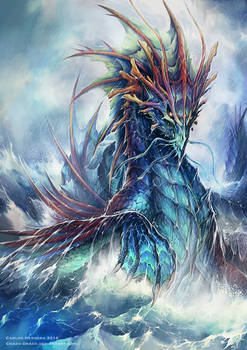 Ancient sea Dragon for Neridian