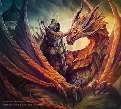 Dragon brotherhood by Chaos-Draco