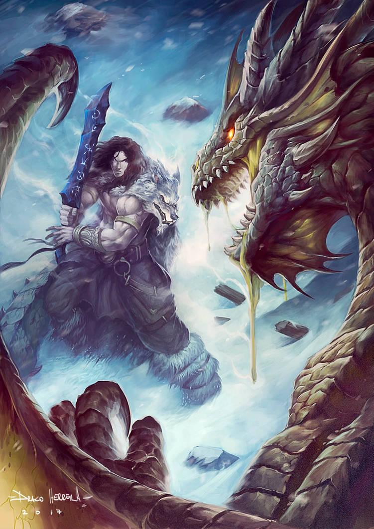 Loss and Faith, Koldar's Origins cover by Chaos-Draco