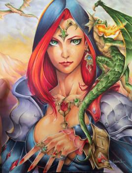 Dragon sorceresses