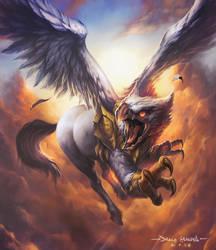 Hipogrifo Sacro for Myl by Chaos-Draco