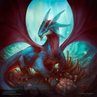 Salamence by Chaos-Draco