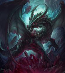 Cinnabar Dragon by Chaos-Draco