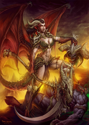 Tanariel the demon slayer