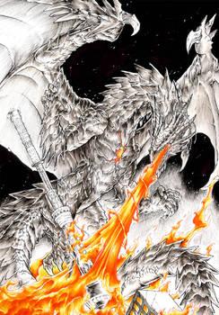 Ariade Dragon Comission
