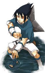 sasuke by Chaos-Draco