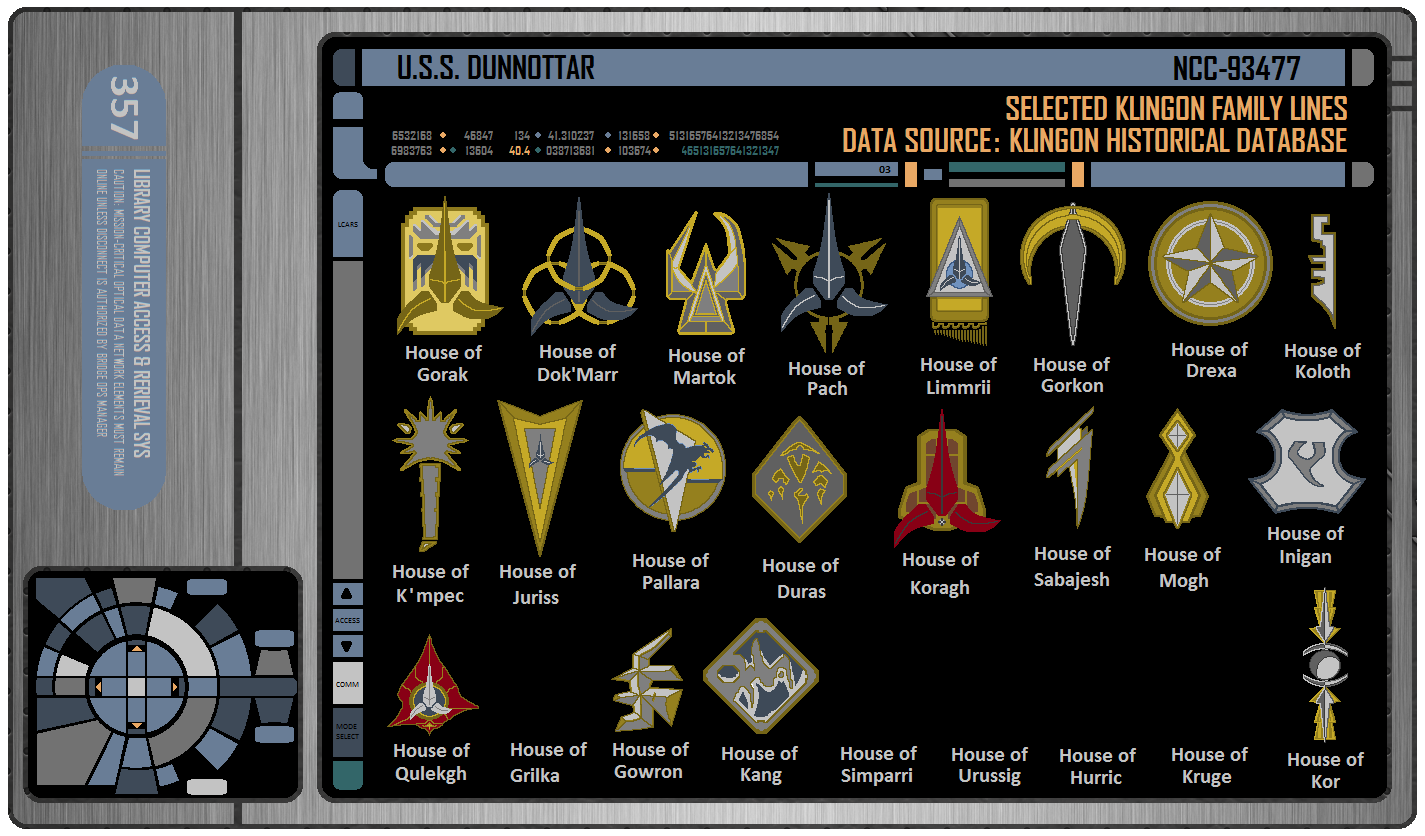 Help Me Design My House St Dtr Padd Selective Klingon House Emblems By Dkeith357
