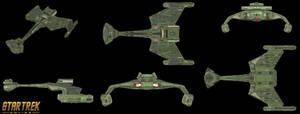 Klingon KTinga Green