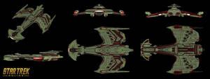 Klingon NeghVar refit