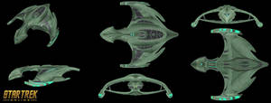 Romulan DKhellra Warbird Battlecruiser