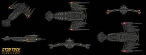Klingon NeghVar Conquest Subclass blk