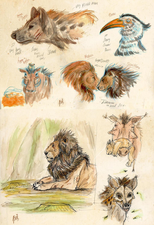Lion King 2019 Concept Art By Thejasillustrator On Deviantart